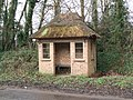 Thatched Bus Shelter, Tacolneston - geograph.org.uk - 346179.jpg