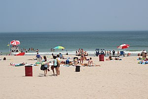 Seaside Heights, New Jersey - Seaside Heights beach.