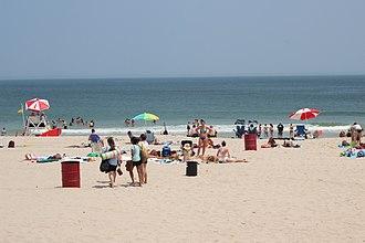 Seaside Heights, New Jersey - Seaside Heights beach.