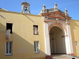 Monastery of Santa Maria de las Cuevas - Inside the entrance gateway