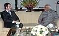 The Chief Minister of Jammu & Kashmir, Shri Omar Abdullah meeting the Vice President, Shri Mohd. Hamid Ansari, in New Delhi on January 27, 2009.jpg