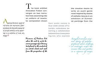 Experimental literature literary genre