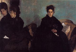 La Duchesse de Montejasi avec ses filles, Elena et Camilla