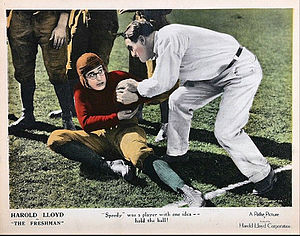 The Freshman (1925 film) - Lloyd as Harold Lamb