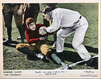 The Freshman (1925 film) - Lloyd as Harold Lamb