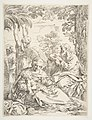 The Holy Family resting on their flight into Egypt MET DP816956.jpg