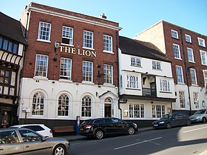 Shrewsbury Town F.C. - Some reports indicate the club being founded at The Lion Hotel