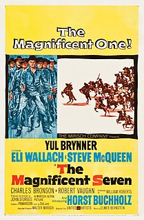 <i>The Magnificent Seven</i> 1960 film directed by John Sturges