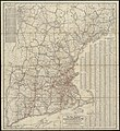 The New England commercial and route survey showing all postoffices, railroads, electric roads in operation and proposed, good roads, population ... and a comprehensive distance table (8347224662).jpg