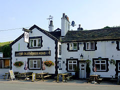 The Old Kings Head at Gurnett, Cheshire (geograph 4282559).jpg