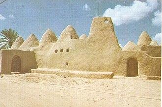 Awjila - 12th-century Grand mosque of Atik, Awjilah