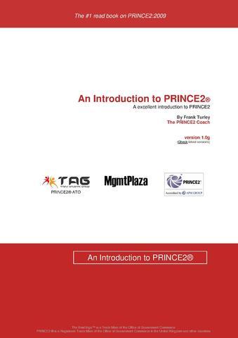 Prince2 boek