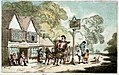 The Post-House (' Tumble Down Dick') at Alton in Hampshire (caricature) RMG PW4962.jpg