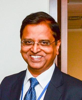 Finance Secretary - Image: The Secretary, Department of Economic Affairs, Mnistry of Finance, Shri Subhash Chandra Garg (cropped)