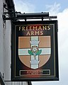The Sign of the Freemans Arms - geograph.org.uk - 1863109.jpg
