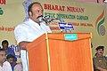 The Tamil Nadu Minister for Hindu Religious and Charitable Endowments, Shri K.R. Periyakaruppan addressing at the Bharat Nirman Public Information Campaign, at Manamadurai in Sivaganga District, Tamil Nadu on July 29, 2010.jpg