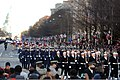 The U.S. Navy Ceremonial Guard, the U.S. Air Force Honor Guard and the 3rd U.S. Infantry Regiment (The Old Guard) Fife and Drum Corps lead the inaugural parade as part of the president's escort on Pennsylvania 130121-D-DB155-005.jpg