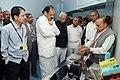 The Vice President, Shri M. Venkaiah Naidu visiting the Centre for Nano Science Engineering, at the Indian Institute of Science, in Bengaluru, Karnataka.jpg