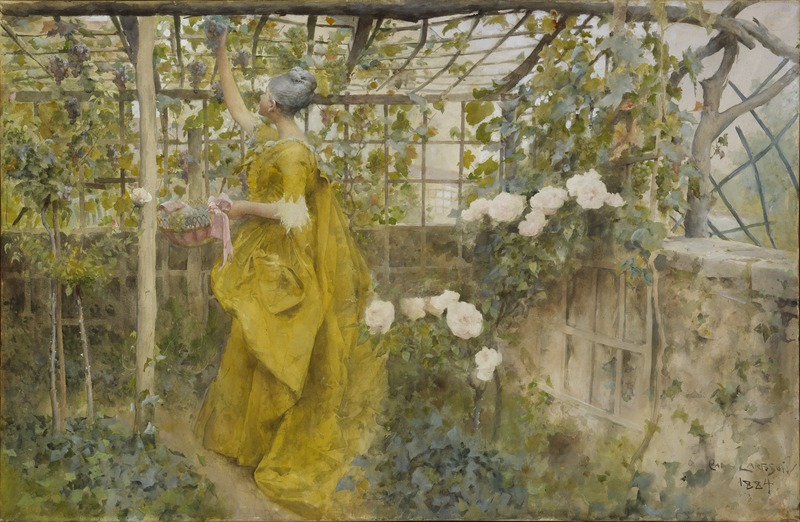 Файл: The Vine (Карл Ларссон) - Национальный музей - 24341.tif