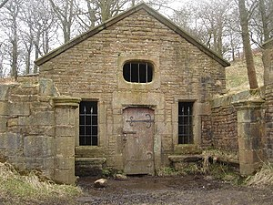 Tockholes - Ruined Well House of Hollinshead Hall
