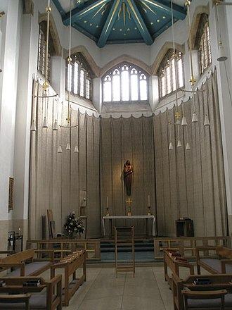 Lady chapel - Lady chapel of Guildford Cathedral, UK