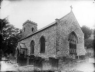 The church, Llansanffraid Glyn Ceiriog