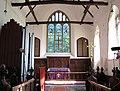 The church of St John the Baptist in Bressingham - the chancel - geograph.org.uk - 1771791.jpg