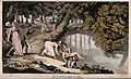 The dance of death; death by drowning. Coloured aquatint by Wellcome V0042004.jpg