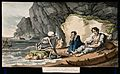 The dance of death; the shipwreck. Coloured aquatint by T. R Wellcome V0042014.jpg