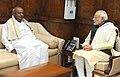 The former Prime Minister, Shri H.D. Deve Gowda calls on the Prime Minister, Shri Narendra Modi, in New Delhi on December 11, 2015 (1).jpg