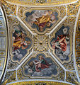 The four evangelists in Santa Maria Maggiore (Rome) - ceiling.jpg