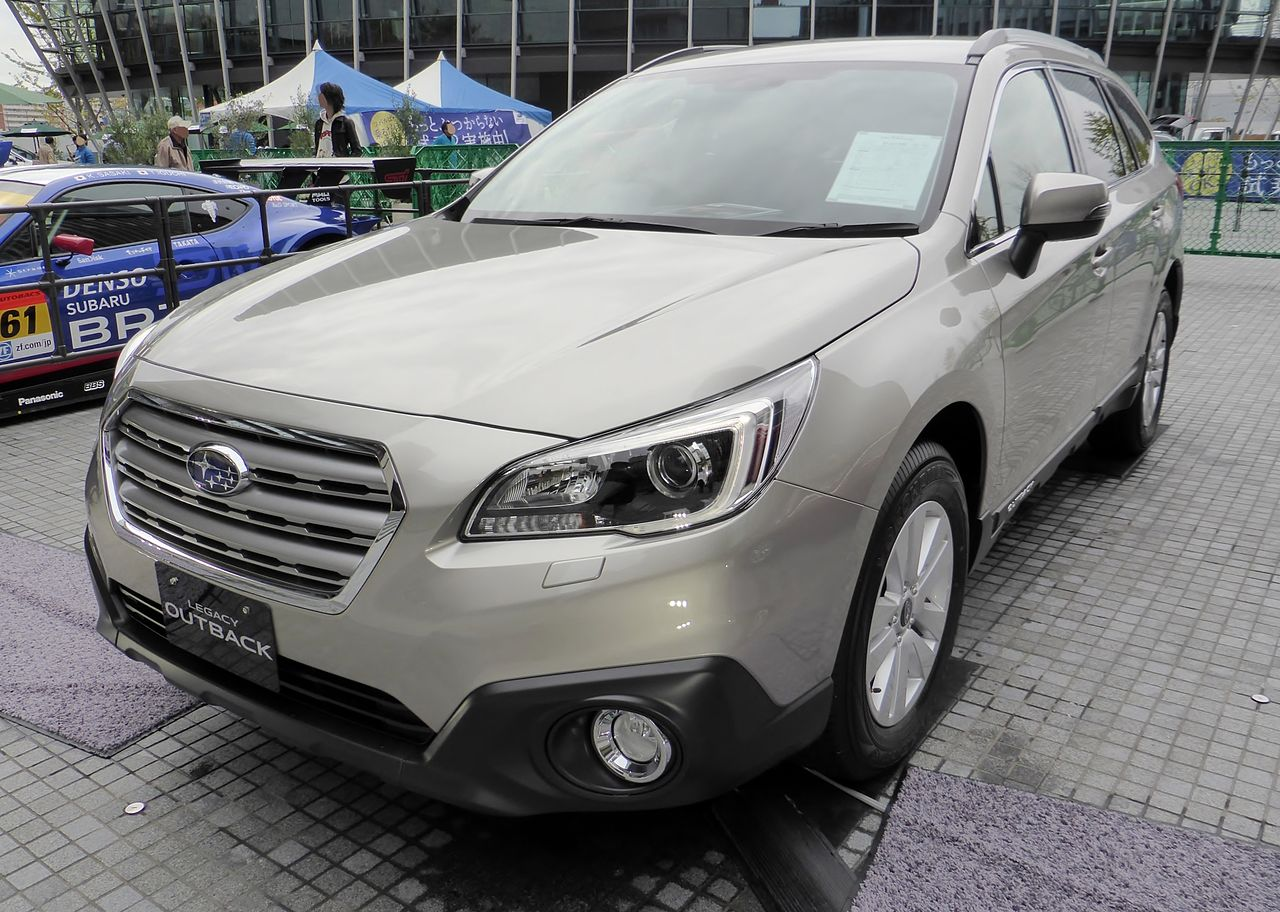 1280px the frontview of subaru bs9 legacy outback