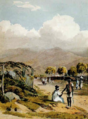 The road from Kingston near Admiral's Pen, Jamaica 1823.png