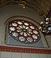 The rose window, St Peter's Cathedral, Lancaster - geograph.org.uk - 652118.jpg