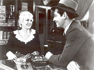 Jean Harlow - Harlow and Clark Gable in The Secret Six (1931)