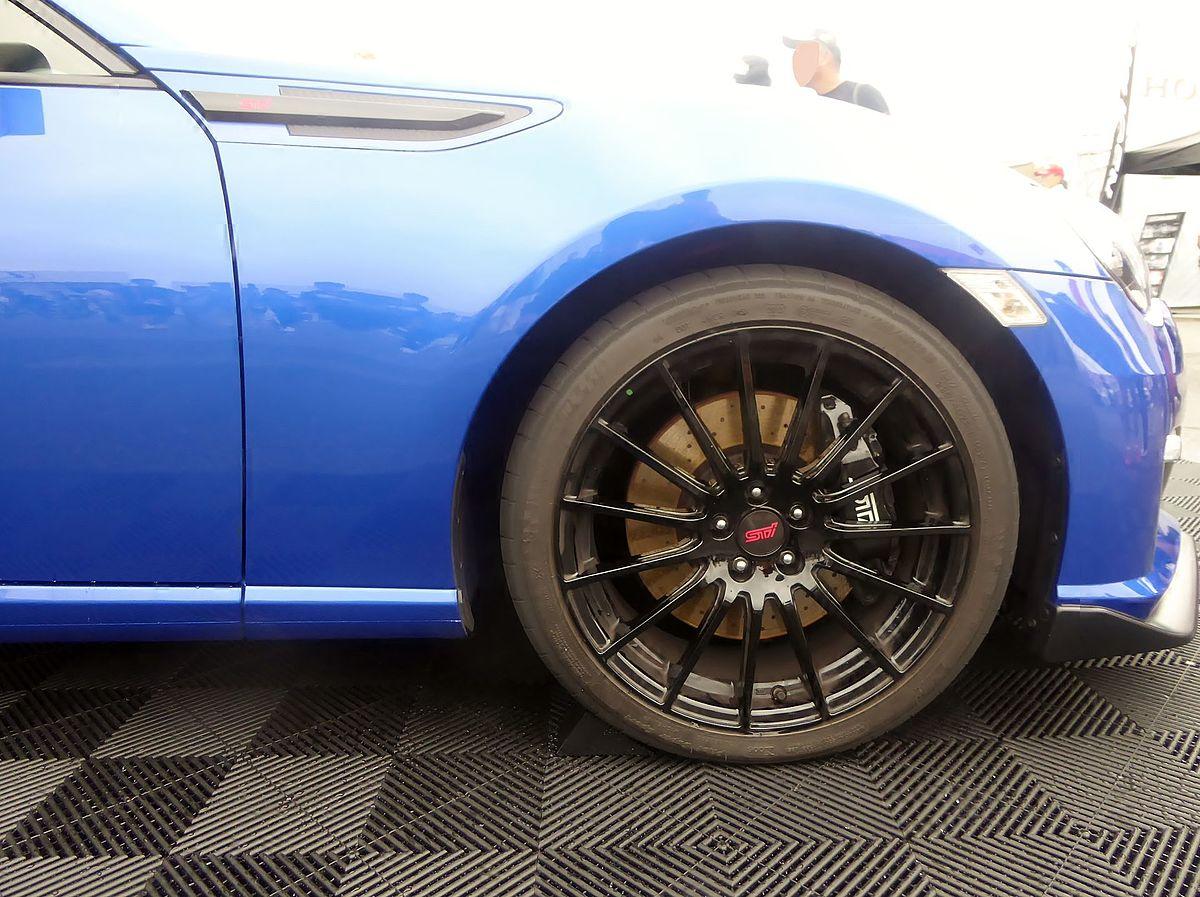 File:The tire wheel of Subaru BRZ tS (ZC6).JPG - Wikimedia ...