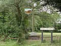 The village sign at Brockley - geograph.org.uk - 1402079.jpg