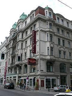 Theater an der Wien historic theatre in Vienna