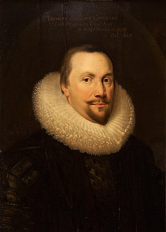 Thomas Coventry, 1st Baron Coventry - Thomas Coventry was made Lord Keeper of the Great Seal on 1 November 1625.