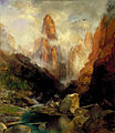 Thomas Moran - Mist in Kanab Canyon, Utah.jpg