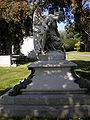 Thomas O. Larkin grave angel right side.JPG