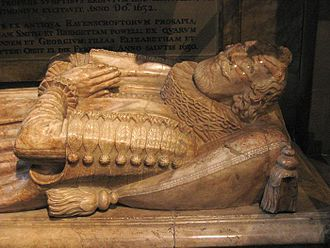 Chipping Barnet - Tomb of Thomas Ravenscroft in Chipping Barnet Church