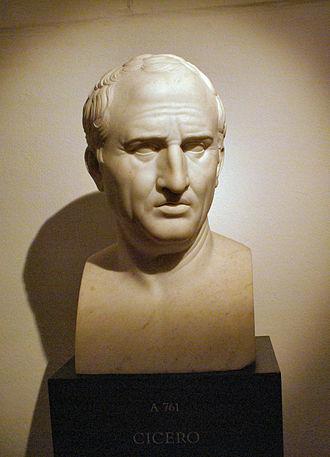 Rhetoric - Bust of Marcus Tullius Cicero