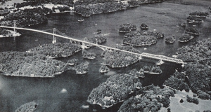 Ontario Highway 137 - The Thousand Islands Bridge opened August 18, 1938; Highway 137 was designated 27 years later