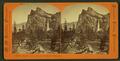 Three Graces, 3,400 feet high, Yosemite Valley, Cal, by Hazeltine, M. M. (Martin M.), 1827-1903.png