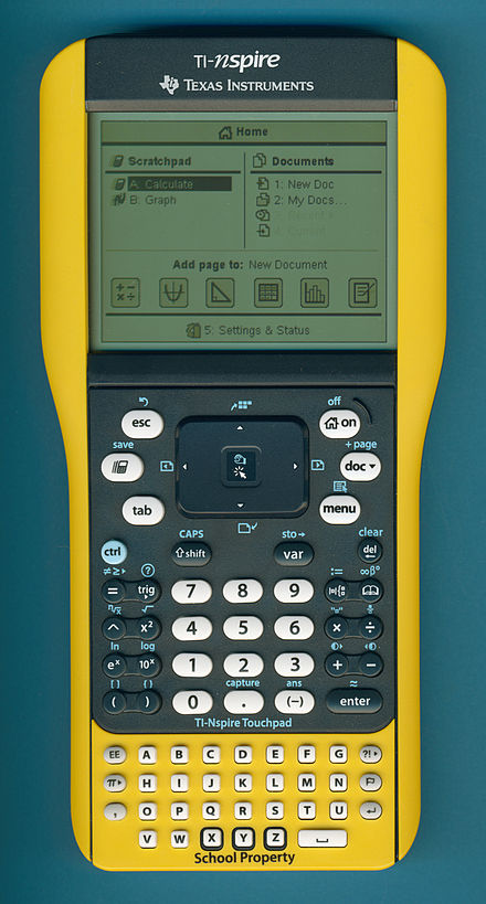 Ti nspire series wikiwand the ti nspire touchpad ez spot meant for school use urtaz Image collections