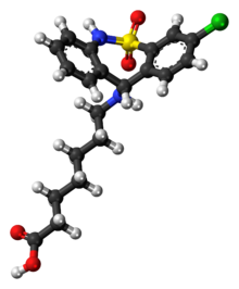 Tianeptine molecule ball.png