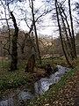 Tichá Šárka, Šárecký potok poblíž usedlosti Velká Pachmanka.jpg