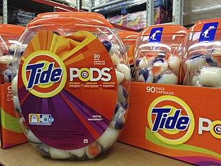 Consumption of Tide Pods Internet meme