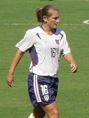 Tiffeny Milbrett - Milbrett in October 2003